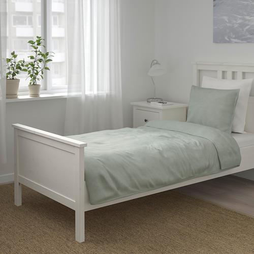 BERGPALM - 被套枕袋套裝, 綠色/條紋, 150x200/50x80 cm  | IKEA 香港及澳門 - PE692791_S4