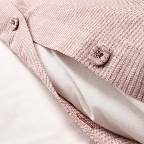 BERGPALM - 被套枕袋套裝, 粉紅色/條紋, 150x200/50x80 cm  | IKEA 香港及澳門 - PE692785_S4