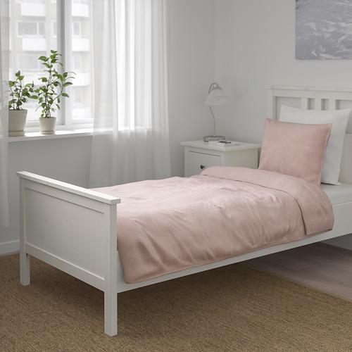BERGPALM - 被套枕袋套裝, 粉紅色/條紋, 150x200/50x80 cm  | IKEA 香港及澳門 - PE692788_S4