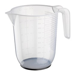 BEHÖVA - measuring jug, transparent/grey | IKEA Hong Kong and Macau - PE671223_S3
