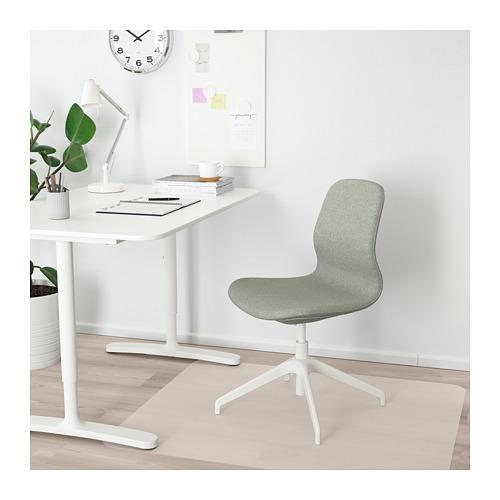 LÅNGFJÄLL - conference chair, Gunnared light green/white   IKEA Hong Kong and Macau - PE671239_S4
