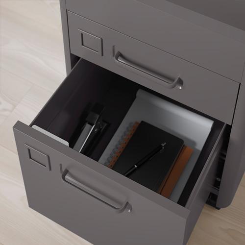 IDÅSEN - 抽屜組合連智能鎖, 深灰色 | IKEA 香港及澳門 - PE720786_S4