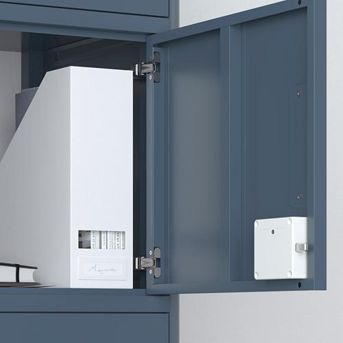 IDÅSEN - 高櫃連智能鎖, 藍色 | IKEA 香港及澳門 - PE720795_S4