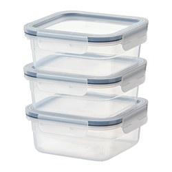 IKEA 365+ - 食物盒, 正方形/塑膠 | IKEA 香港及澳門 - PE761532_S3