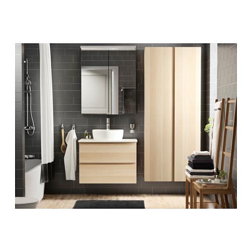 TÖRNVIKEN - 櫃台板用洗手盆, 白色 | IKEA 香港及澳門 - PH124880_S4