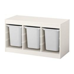 TROFAST - storage combination with boxes, white/white | IKEA Hong Kong and Macau - PE558437_S3