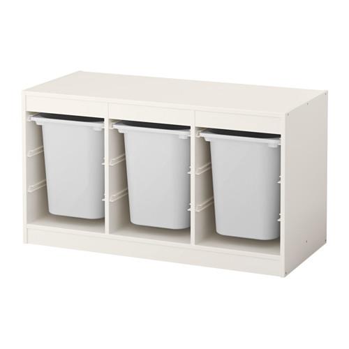 TROFAST - storage combination with boxes, white/white   IKEA Hong Kong and Macau - PE558437_S4