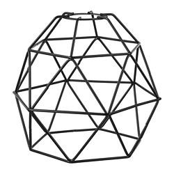 BRUNSTA - 吊燈燈罩, 黑色 | IKEA 香港及澳門 - PE720856_S3