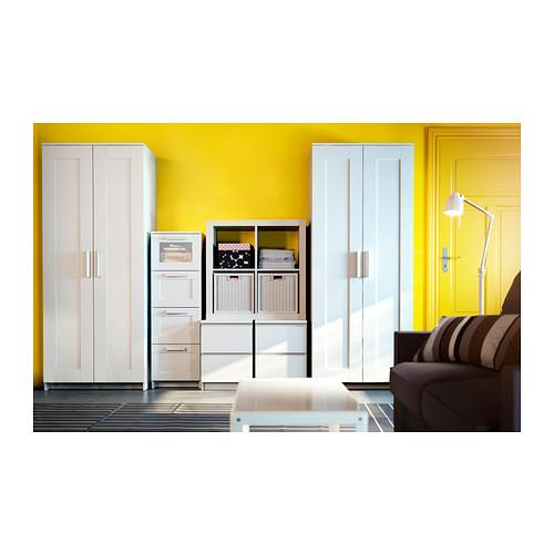 BRIMNES - 雙門衣櫃, 白色 | IKEA 香港及澳門 - PE383126_S4