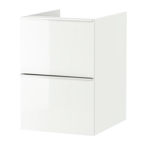 GODMORGON - wash-stand with 2 drawers, high-gloss white | IKEA Hong Kong and Macau - PE621661_S4