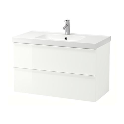 GODMORGON/ODENSVIK - 雙抽屜洗手盆櫃 | IKEA 香港及澳門 - PE557470_S4