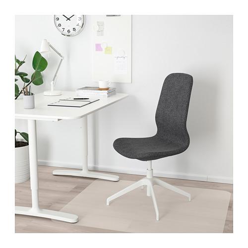 LÅNGFJÄLL - conference chair, Gunnared dark grey/white | IKEA Hong Kong and Macau - PE671350_S4