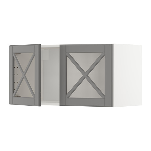 METOD 雙玻璃門吊櫃