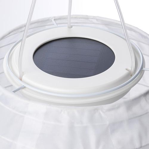 SOLVINDEN - 太陽能LED吊燈, 戶外/球形 白色   IKEA 香港及澳門 - PE721826_S4