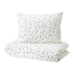 MÖJLIGHET - 被套枕袋套裝, 白色/馬賽克圖案 | IKEA 香港及澳門 - PE721050_S3