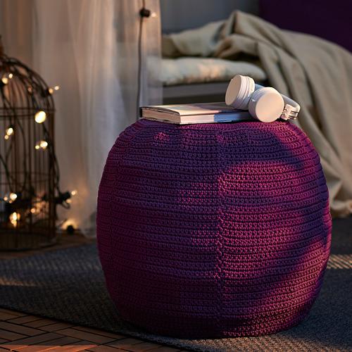 OTTERÖN/INNERSKÄR - pouffe, in/outdoor, purple | IKEA Hong Kong and Macau - PE761700_S4