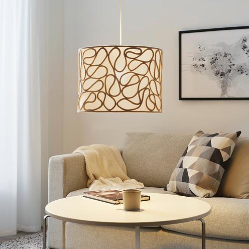 VINGMAST - 燈罩, 繩 米黃色 | IKEA 香港及澳門 - PE816199_S4
