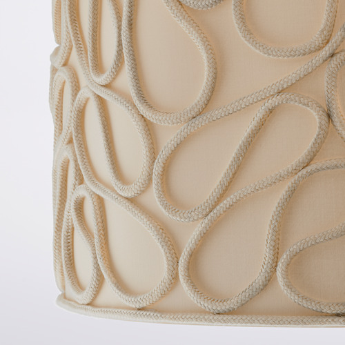 VINGMAST - 燈罩, 繩 米黃色 | IKEA 香港及澳門 - PE816198_S4