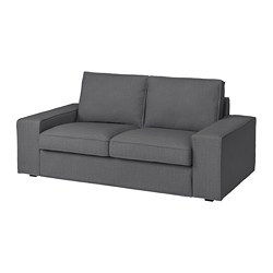 KIVIK - 2-seat sofa, Skiftebo dark grey | IKEA Hong Kong and Macau - PE761736_S3