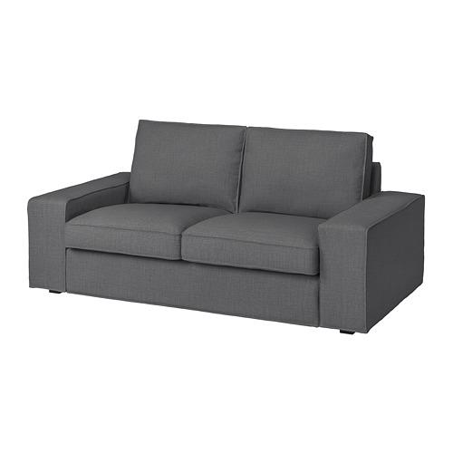 KIVIK - cover two-seat sofa, Skiftebo dark grey | IKEA Hong Kong and Macau - PE761736_S4
