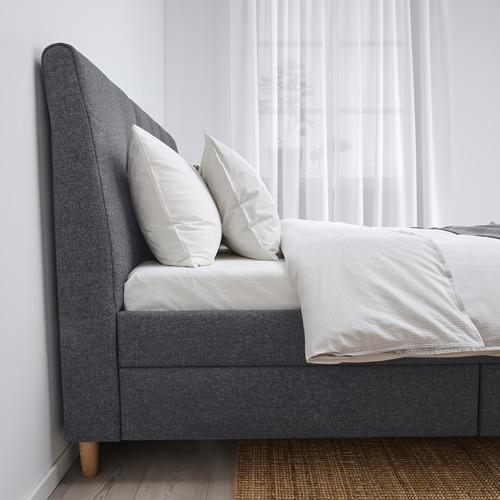 IDANÄS - 特大雙人儲物床, Gunnared 深灰色 | IKEA 香港及澳門 - PE816226_S4