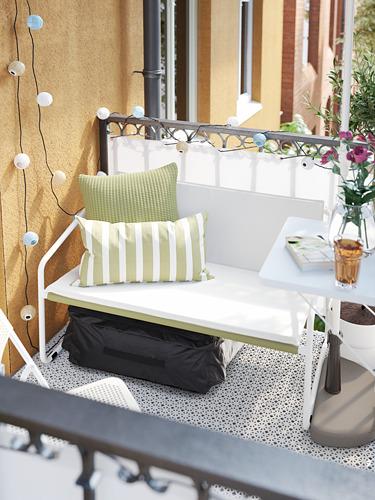 INGMARSÖ - 兩座位梳化,室內/戶外用, 白色 綠色/米黃色 | IKEA 香港及澳門 - PH176360_S4