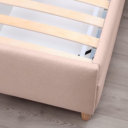 IDANÄS - 特大雙人儲物床, Gunnared 淡粉紅色   IKEA 香港及澳門 - PE816234_S4
