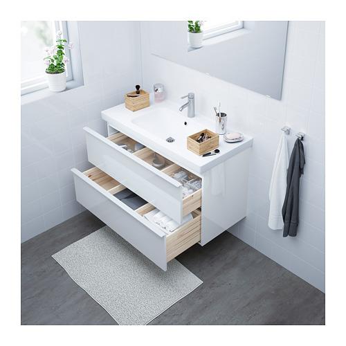 GODMORGON/ODENSVIK - 雙抽屜洗手盆櫃 | IKEA 香港及澳門 - PE621878_S4