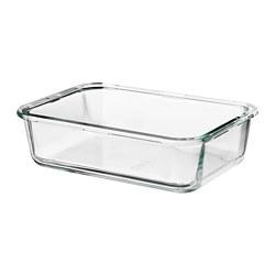 IKEA 365+ - 食物盒, 長方形/玻璃,1升 | IKEA 香港及澳門 - PE671508_S3