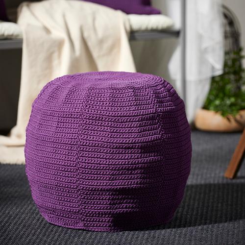 OTTERÖN/INNERSKÄR - pouffe, in/outdoor, purple | IKEA Hong Kong and Macau - PE761744_S4