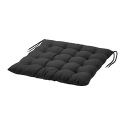 HÅLLÖ - chair cushion, outdoor, black | IKEA Hong Kong and Macau - PE721235_S3