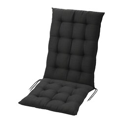 HÅLLÖ - seat/back cushion, outdoor, black | IKEA Hong Kong and Macau - PE721239_S3