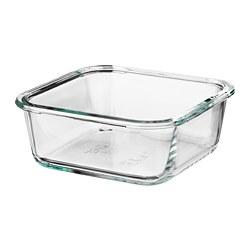 IKEA 365+ - food container, square/glass, 600ml | IKEA Hong Kong and Macau - PE671592_S3