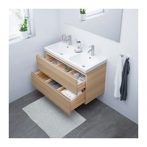 ODENSVIK/GODMORGON - 雙抽屜洗手盆櫃 | IKEA 香港及澳門 - PE621809_S4