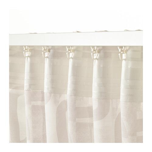 VINTERJASMIN 窗簾,一對