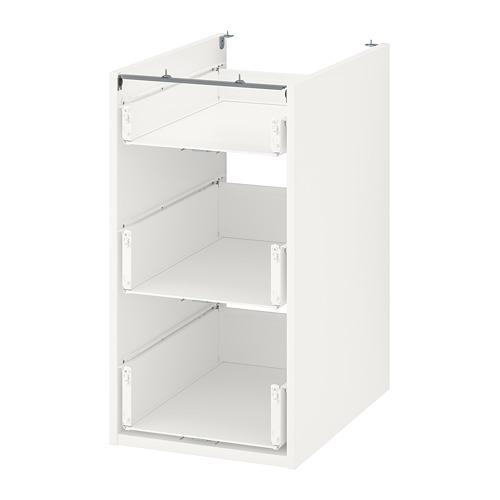 ENHET - 地櫃連3抽屜, 白色   IKEA 香港及澳門 - PE761913_S4