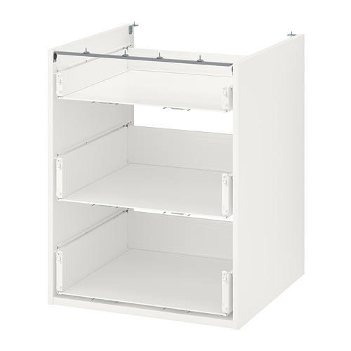 ENHET - 地櫃連3抽屜, 白色 | IKEA 香港及澳門 - PE761914_S4