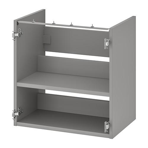 ENHET - 洗手盆用地櫃連層板, 灰色 | IKEA 香港及澳門 - PE761908_S4