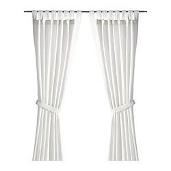 LENDA - 窗簾連簾帶,一對, 白色 | IKEA 香港及澳門 - PE336821_S3
