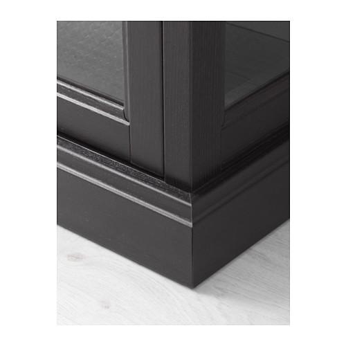 MALSJÖ - glass-door cabinet, black stained   IKEA Hong Kong and Macau - PE558045_S4