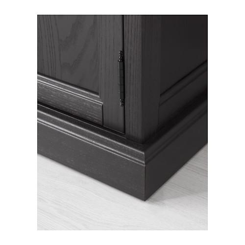 MALSJÖ - 玻璃門貯物櫃, 染黑 | IKEA 香港及澳門 - PE558044_S4
