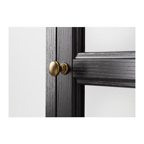 MALSJÖ - 玻璃門貯物櫃, 染黑 | IKEA 香港及澳門 - PE558043_S4