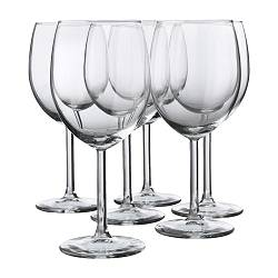 SVALKA - red wine glass, clear glass | IKEA Hong Kong and Macau - PE132568_S3