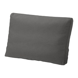 FRÖSÖN/DUVHOLMEN - back cushion, outdoor, dark grey | IKEA Hong Kong and Macau - PE721319_S3