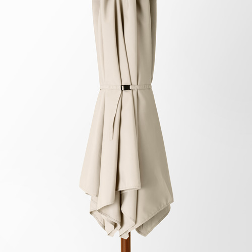 BETSÖ/LINDÖJA - 太陽傘, 褐色 木紋/米黃色 | IKEA 香港及澳門 - PE762021_S4
