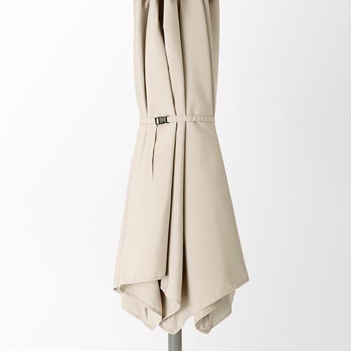 LINDÖJA/BETSÖ - 太陽傘連底座, grey wood effect beige/Grytö | IKEA 香港及澳門 - PE762022_S4