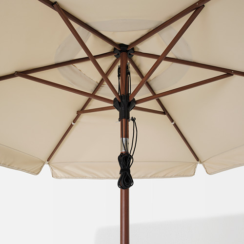 BETSÖ/VÅRHOLMEN parasol with base