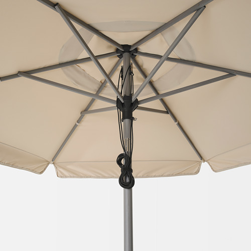 BETSÖ/VÅRHOLMEN parasol with base