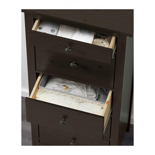 HEMNES - 五層抽屜櫃, 棕黑色   IKEA 香港及澳門 - PE557688_S4