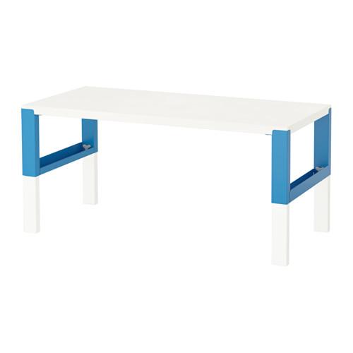 PÅHL - desk, white/blue | IKEA Hong Kong and Macau - PE558655_S4